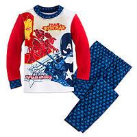 Пижама для мальчика 8 лет Капитан Америка и Железный человек Дисней / Marvel Captain America Disney