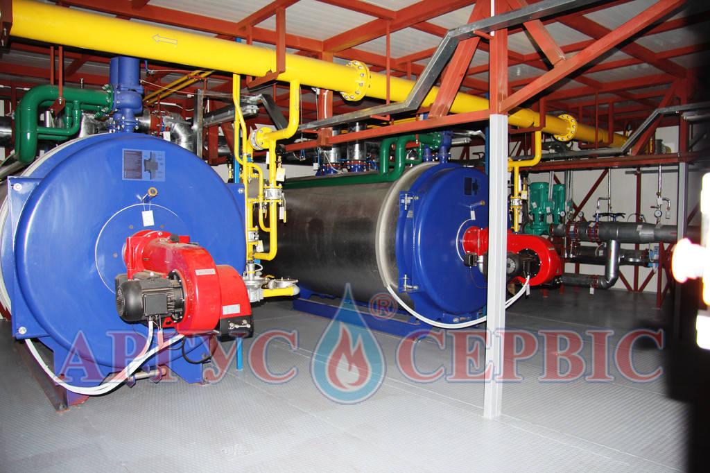 газовая котельная 6 мвт