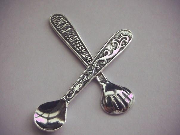 Ложка-загребушка сувенир в подарок 48