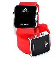 Спортивные часы Adidas LED WATCH. Хорошее качество. Наручные часы. Практичный дизайн. Купить часы Код: КДН1083