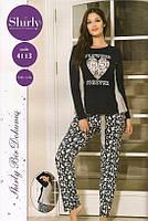 Модная женская хлопковая пижама-Турция