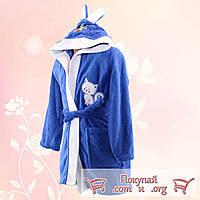 Махровые халаты Турция для мальчика и девочки от 5 до 8 лет (4893-2)