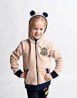 Стильный модный детский батник с ушками