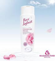 """Очищающее молочко для лица""""Rose Joghurt"""", """"Болгарская роза - Карлово"""""""