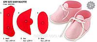 Ботиночки детские пластиковый оттиск
