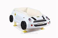 Кровать-машина Baby Carbed Mini белая