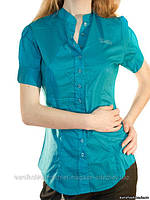 Блузка цвета морской волны, сток Silvian Heach