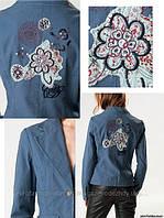 Пиджак с вышивкой на спине, Silvian Heach, размер S