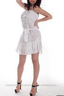 Платье с резинкой на груди, сток Terranova