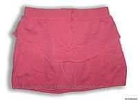 Юбка розовая с наслоениями Zara, на девочку 9-10 лет
