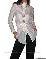 Удлиненная нарядная женская блузка , Китай