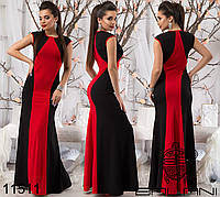 Вечернее длинное платье на Новый год р. S, M, L 11509 3 цвета