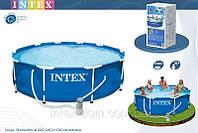 Бассейн с комплектом 366х76 см, Metal Frame, Intex 28212/56996