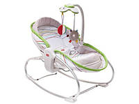 Кресло - кроватка - качалка 3 в 1 «Мамина любовь» (белое) для детей с рождения ТМ Tiny Love 1801306830