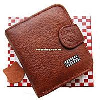 Мужской кошелек 100 % натуральная кожа. Портмоне. Кожаный бумажник.  СК20-1