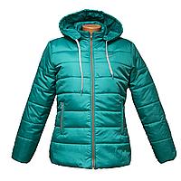 Куртка женская бирюза куртки зимние женские куртки больших размеров  K225