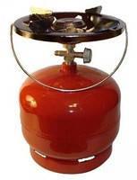 Баллон газовый с горелкой 5л «Пикник» (туристический) Vita c переходником для заправки