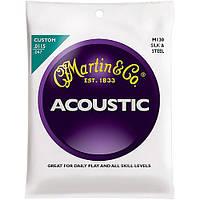 Струны Martin M130 Silk and Steel Custom (0115-047) для акустической гитары