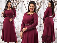 Вечерние платья больших размеров на Новый год р. 50-54 11381 4 цвета
