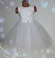 Красивое нарядное платье для девочки 3-7 лет  (без шнуровки на молнии)
