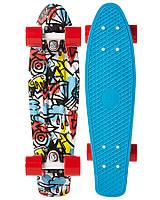 """Скейт Пенни борд Penny board Original 22"""" COMIC FUSION - 2016 100% оригинал Австралия"""