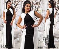 Нарядные платья больших размеров на Новый год р. 48-54 11389 3 цвета