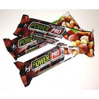 Протеиновый батончик 36% Power Pro, 60 грамм (с цельными орехами)