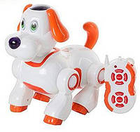 Игрушка друг - щенок Арго. Собачка сенсорная интерактивная  с пультом, пес Арго