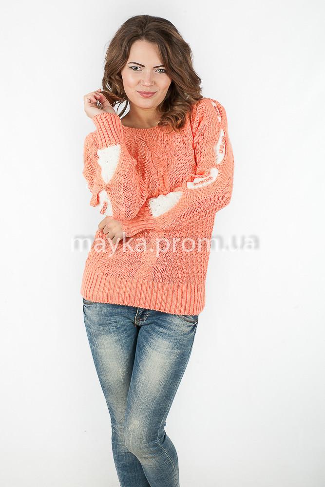 Оригинальный Женский Пуловер