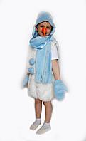 Новогодний костюм Снеговик-1 на возраст от 3 до 6 лет