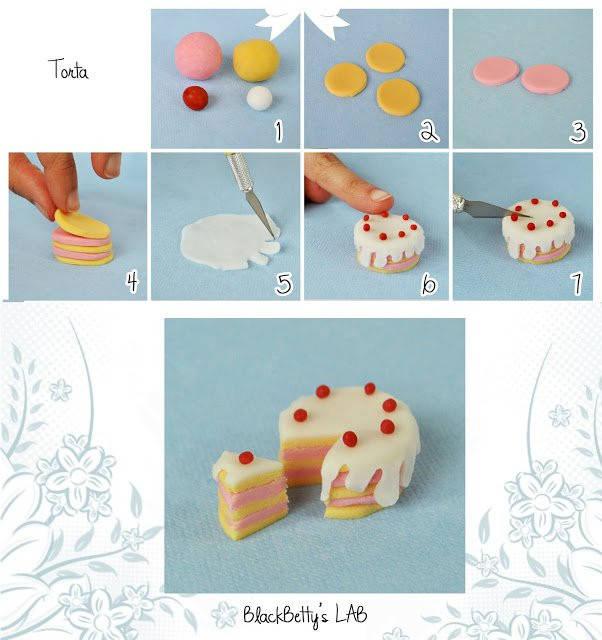 Фигурки на торт своими руками