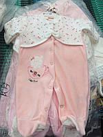 """Комбинезон  для новорожденных """"Лейла"""". Детская одежда. Все для детей."""