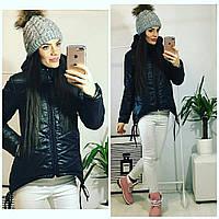 Куртка-парка женская, модель  210, черный