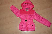 Курточка с вязкой