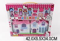 Игровой набор Домик Hello Kitty с мебелью и фигурками (595)