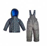 Комплект зимний, куртка и комбинезон с набором аксессуаров Gusti 4044 GWВ, цвет графит размер 89
