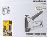 Степлер мебельный TOPEX