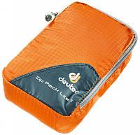 Оригинальный оранжевый мешок-чехол для одежды Zip Pack Lite 1 DEUTER цвет 9010 mandarine