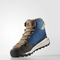 Мужские зимние ботинки adidas CW Winterpitch Mid CP (АРТИКУЛ:AQ6573)