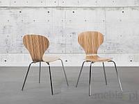 Стул светло-коричневый - стул для столовой - стул для кухни - КОРОЛЕВ