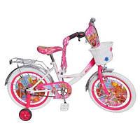 Велосипед детский для девочек Profi Винкс P1252W-W, 12 дюймов