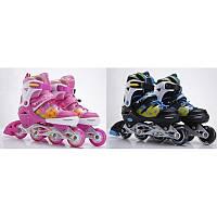 Детские раздвижные любительские ролики RS16048 M (35-38)