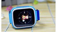 Детские умные gps часы Smart baby watch Q80 blue Гарантия 12 мес