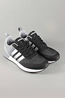 Кроссовки  Adidas. Кроссовки для бега.Кроссовки Adidas Neo Terra Sports черные с серыми вставками