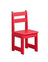 Низкой, универсальный деревянный стульчик для кормления Малыша
