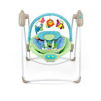 Кресло-качалка 2 в 1 Milly Mally Sweet Dreams, цвет Green-Blue