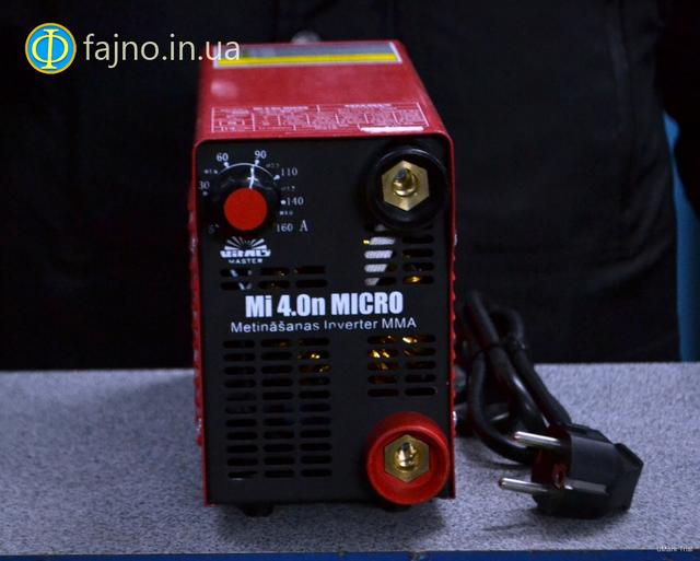 Инверторный сварочный аппарат Vitals Master Mi 4.0n Micro