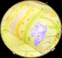 "Наволочка для детской подушки в кроватку ""Сафари"" 60х40 см, ТМ Ромашка"