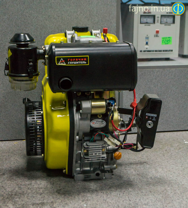 Дизельный двигатель Кентавр ДВС 410ДЭ фото 3