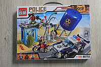 """Развивающие игры для детей, креативный конструктор """"Полицейский участок"""" типа Lego"""